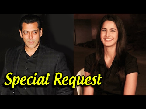 Katrina Kaif Requests Salman Khan To Launch Her Tw