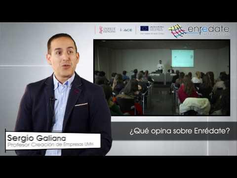 Sergio Galiana en #EnredateElx 2015