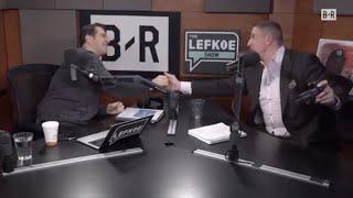 Giants select DANIEL JONES?! 😳David Diehl In-Studio | The Lefkoe Show