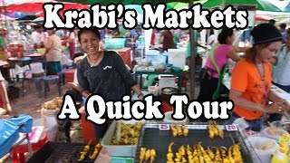 Krabi Town Markets. A Tour Of The 6 Main Markets In Krabi Town. Shopping&street Food Aplenty!