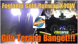 Video Pasang Foglamp Gold Runway X 40 W di Yamaha Xmax 250! MP3, 3GP, MP4, WEBM, AVI, FLV September 2018
