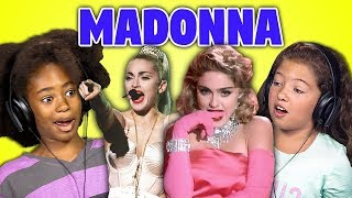 Video KIDS REACT TO MADONNA MP3, 3GP, MP4, WEBM, AVI, FLV Juli 2018