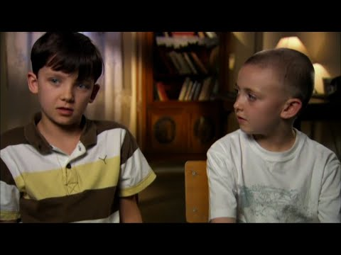 Asa Butterfield and Jack Scanlon | The Boy In The Striped Pajamas