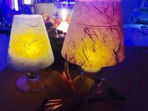 Glas Lampenschirm DIY