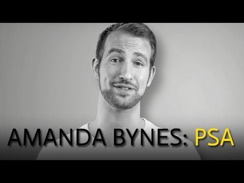 "Viral of the Day: Amanda Bynes PSA, ""Stop Caring"""