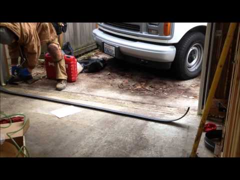 how to keep water out of the garage