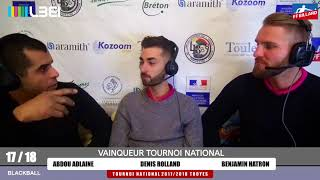 17_18 - FFB - Interview de Abdou Adlaine