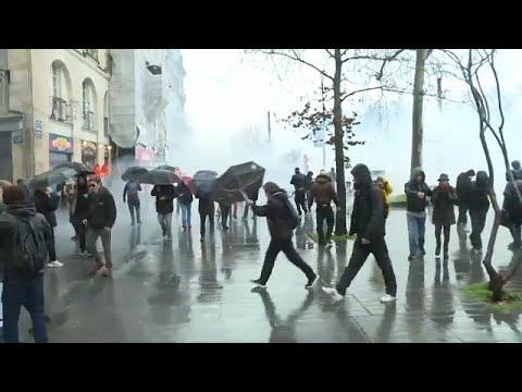 Frankreich: Tausende bei Demonstrationen gegen Macron ...