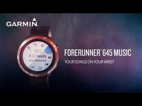 Garmin launches Forerunner 645 Music GPS Running Watch in the Indian Market