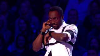 Cheryl Cole - Calls Will.i.am live on The Voice UK 05/04/14