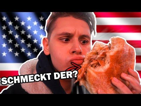 Schmeckt DÖNER in Amerika?🤔🥙 - Evanijo probiert🤤