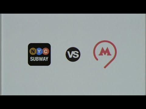 Московское метро VS Нью-Йоркское метро. Рэп баттл