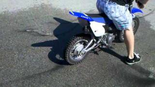 10. Yamaha ttr 110 burnout