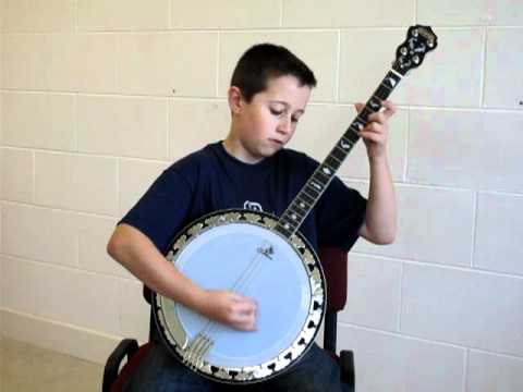 Timmy Flaherty U12 All Ireland Tenor Banjo Champion 2010