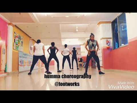 Humma dance video footworks