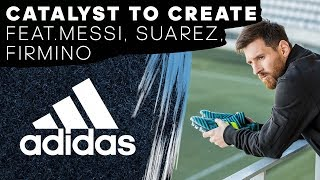 Without creativity, football is black and white. Football needs creators. Leo Messi, Luis Suárez and Roberto Firmino are ready to create in the new Ocean Storm pack. Get yours at adidas.com/football. The adidas Football channel brings you the world of cutting edge football. Gain exclusive access to our players, go behind the scenes with our teams and be the first to see the latest innovations in football. adidas Football's mission is to push the limits of the game forward, driving the performances of Messi, Pogba, Bale, James Rodríguez and Sunday League players around the world.adidas teams include: Chelsea FC, Manchester United FC, FC Bayern München, Clube de Regatas do Flamengo, AC Milan, Juventus F.C., Real Madrid C.F., AFC Ajax, S.L. Benfica, FC Basel 1893, FC Kobenhaven, and FC Schalke 04. adidas sponsor some of the best footballers in the world including: Leo Messi, Paul Pogba, Luis Suárez, James Rodríguez, Gareth Bale, Arjen Robben, Müller, Özil, Oscar, Neuer, Diego Costa, Juan Mata, Benzema, Kroos, Marcelo, Dele Alli.Follow us:Snapchat - http://snapchat.com/add/adidasfootballTwitter - https://twitter.com/adidasfootballFacebook - https://facebook.com/adidasfootballInstagram - http://instagram.com/adidasfootballFind out more at: http://adidas.com/football