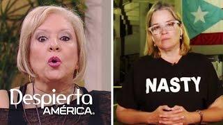 La polémica camiseta de la alcaldesa de San Juan, Puerto Rico