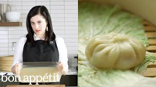 Associate Food Editor Claire Saffitz shows us how to make soup dumplings. Still haven't subscribed to Bon Appetit on YouTube?