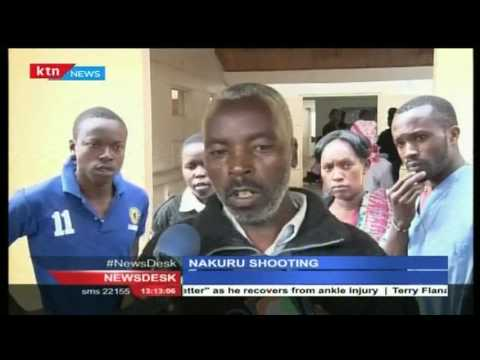 NAKURU SHOWDOWN: Drama as Nakuru Deputy OCS shoots man in a scuffle