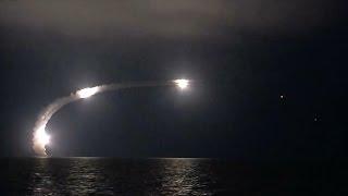 Rosjanie ostrzelali Państwo Islamskie z… Morza Kaspijskiego.