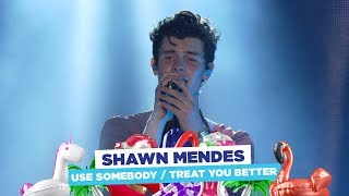 Video Shawn Mendes - 'Use Somebody / Treat You Better' (live at Capital's Summertime Ball 2018) MP3, 3GP, MP4, WEBM, AVI, FLV Juni 2018