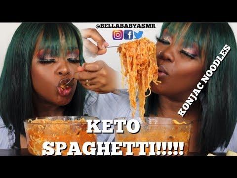 EP. 16 | Trying KONJAC ROOT NOODLES!! | Cheesy Keto Spaghetti!! | Birth Control | Weight Loss