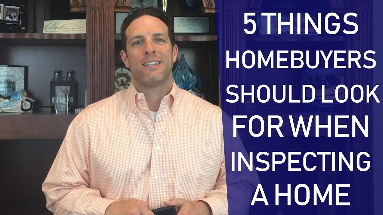 5 Things to Look Out for When Walking Through a Home