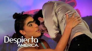 Sebastián Yatra termina en el suelo por intentar ser romántico con Mela la Melaza
