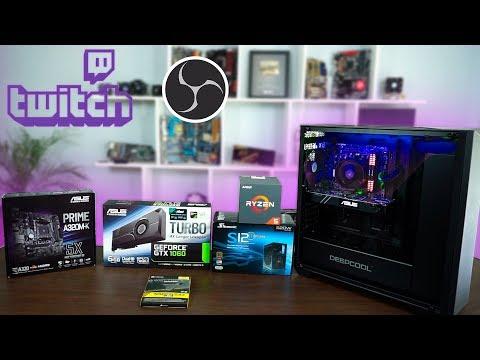 Ensamblando PC de gama Media para hacer Stream en Twitch o youtube - Proto HW & Tec