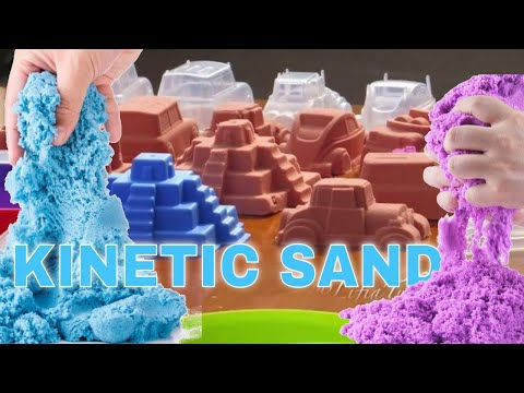 #2 Mainan Anak Colorful Kinetic Sand - Mainan Pasir Ajaib Warna Warni - Kid Toys