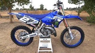 8. Motocross Action tests Ryan Villopoto's Yamaha YZ125 2 Stroke