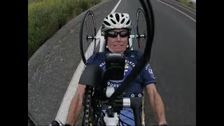 Beth Sanden crashed her bike 15 years ago. The elite Southern California Ironman athlete was paralyzed. She figured her competition days were over, along with her career as a personal trainer and triathlon coach. But they were just beginning. (July 21)Subscribe for more Breaking News: http://smarturl.it/AssociatedPress