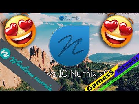 Windows 10 Numix Duo Full Review 2018| مراجعة النسخة المنتظرة الانيقة