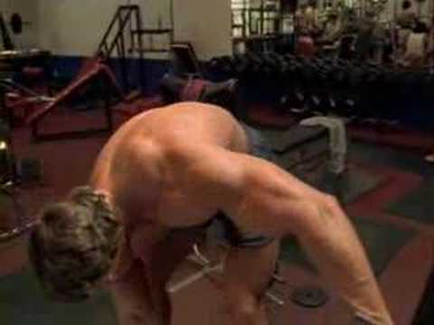 pumped - Clip from 'Pumping Iron' where Arnold Schwarzenegger talks about pumping iron is like cumming etc. lol.