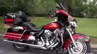 4. Used 2010 Harley Davidson Electra Glide Ultra Classic Motorcycles for sale in Tampa