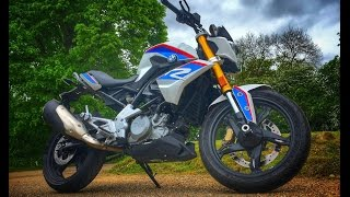 2. 2017 BMW G310R Review