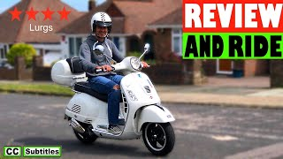 4. Vespa GTS 300 Review and Ride