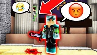 TROLLING MY FRIEND!! (Minecraft Murder Mystery)