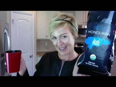 Organic Coffee Review - Hunt Brothers Coffee Beans - Blue Honduran - The best Organic Coffee