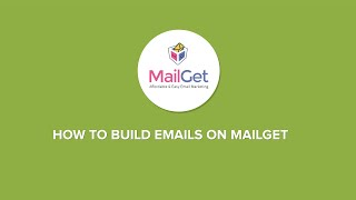 How to build e-mails on MailGet