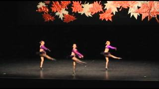 Jazz Dance Competition - Katrina - 11 Year Old Trio