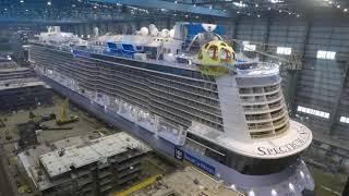 Video MEYER WERFT - Der Bau der Spectrum of the Seas MP3, 3GP, MP4, WEBM, AVI, FLV September 2019