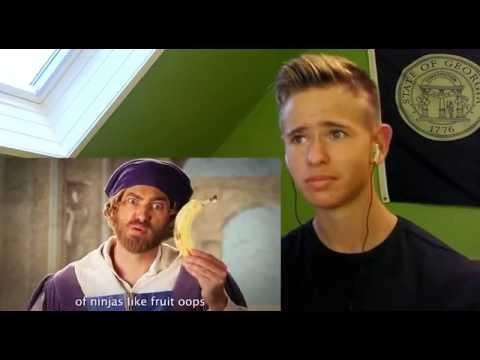 Artists vs TMNT. Epic Rap Battles of History Season 3 Finale. Reaction!