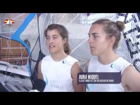 Previa de  Mundial de Silvia Roca y Aura Miquel