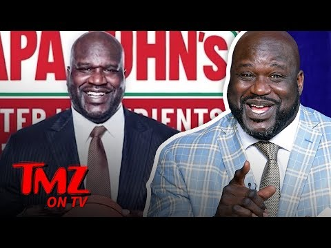 Shaq Joins Papa John's Board Of Directors Following Ex-CEO's N-Word Scandal | TMZ TV