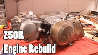 4. How-To: Honda Z50R XR50R CRF50F Engine Rebuild 1968-2015