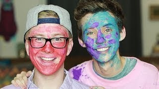 Face Painting with #Troyler (ft Tyler Oakley)