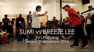 Sumi vs Breeze Lee – Vegas Shakedown 2016 Popping Top 8