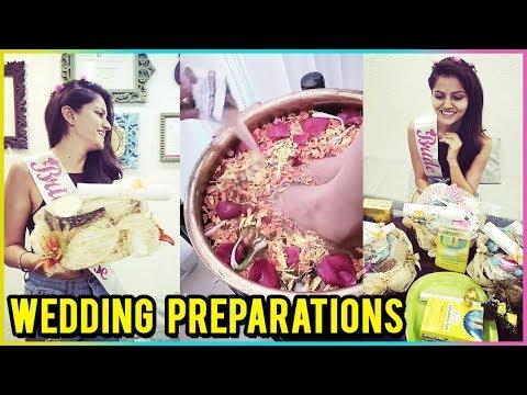 Rubina Dilaik & Abhinav Shukla WEDDING PREPARATION