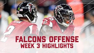 Freeman 207 Total Yards, Coleman 3 TDs, Falcons 442 Total Yards, & 5 TDs | Falcons vs. Saints | NFL by NFL